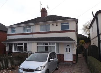 Thumbnail 3 bed semi-detached house for sale in Cedar Avenue, Talke, Stoke-On-Trent, Staffordshire