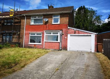 Thumbnail 3 bedroom semi-detached house for sale in Pen-Y-Bryn, Caerphilly