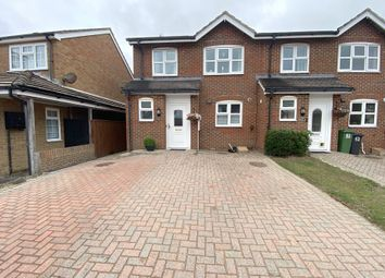 Thumbnail 3 bed end terrace house for sale in Bridgemere Road, Eastbourne, East Sussex