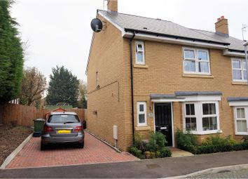 Thumbnail 4 bed semi-detached house for sale in Flora Road, Bushey