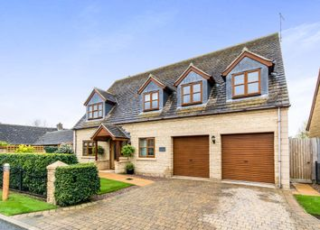 Thumbnail 4 bed detached house for sale in Stoney Glen, Carlby, Stamford