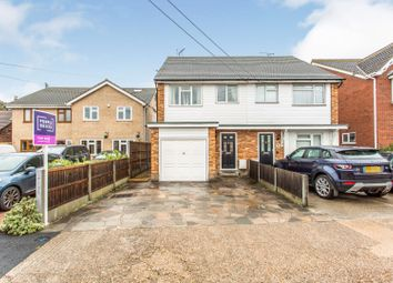 Thumbnail 3 bed semi-detached house for sale in Sutton Court Drive, Rochford