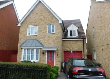 Thumbnail 4 bed detached house for sale in Cormorant Drive, Stowmarket