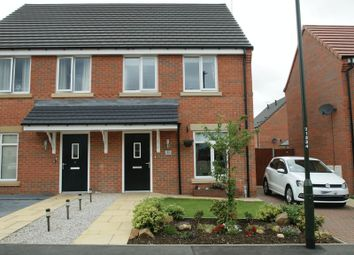 Thumbnail 3 bed semi-detached house for sale in Highfield Avenue, Langwith Junction, Mansfield