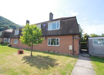 Thumbnail 2 bed maisonette for sale in Woodland Crescent, Llanfoist, Abergavenny