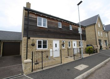 Thumbnail 3 bed semi-detached house to rent in Sanderling Way, Bishops Cleeve, Cheltenham