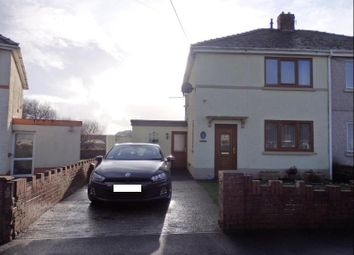 Thumbnail 2 bed semi-detached house for sale in Brynymor, Burry Port