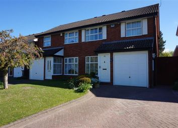 Thumbnail 3 bed semi-detached house for sale in Old Forest Way, Shard End, Birmingham