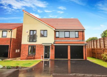 Thumbnail 5 bed detached house for sale in Harbottle Grove, Holystone, Newcastle Upon Tyne