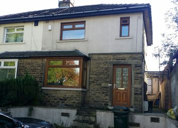 Thumbnail 3 bed semi-detached house to rent in Sticker Lane, Bradford