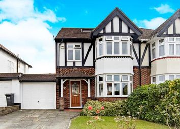 Thumbnail 4 bed semi-detached house for sale in Lake Road, Shirley, Croydon