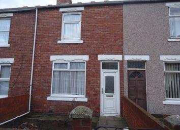 Thumbnail 2 bed terraced house for sale in Alexandra Road, Ashington