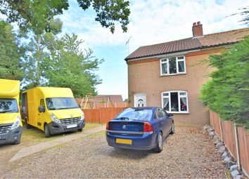 Thumbnail 3 bed semi-detached house for sale in Roughton Road, Thorpe Market, Norwich