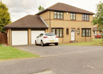 Thumbnail 4 bed detached house for sale in Ryder Court, Newton Aycliffe