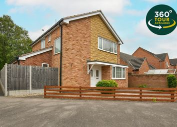 Thumbnail 3 bed detached house for sale in Penney Close, Wigston, Leicester