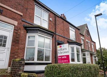 Thumbnail 4 bed terraced house for sale in Moor View Road, Woodseats, Sheffield