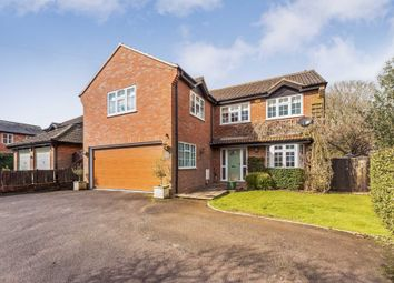 Thumbnail 5 bed detached house to rent in Leighton Road, Wingrave, Aylesbury