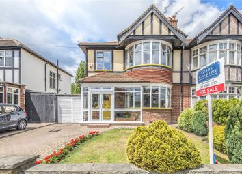 Thumbnail 3 bed semi-detached house for sale in Deane Croft Road, Pinner, Middlesex