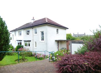 Thumbnail 3 bed semi-detached house for sale in Carmichael Street, Greenock