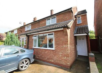 Thumbnail 3 bedroom end terrace house for sale in Briar Close, Luton