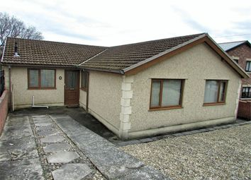 Thumbnail 4 bed detached bungalow for sale in Bryncatwg, Cadoxton, Neath, West Glamorgan