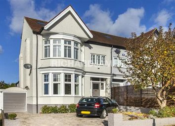Thumbnail 4 bed semi-detached house for sale in Woodcroft Avenue, London