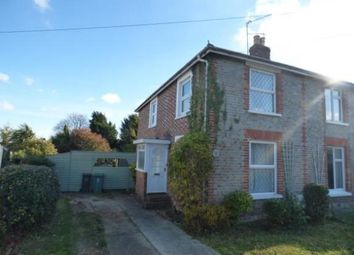 Thumbnail 2 bed semi-detached house for sale in Newnham Road, Binstead, Ryde