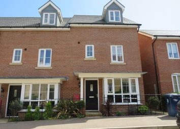 Thumbnail 4 bed town house to rent in Summers Hill Drive, Papworth Everard, Cambridge