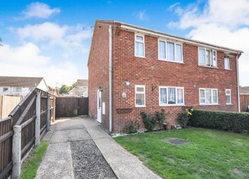 Thumbnail 3 bed semi-detached house for sale in Sturdee Close, Thetford