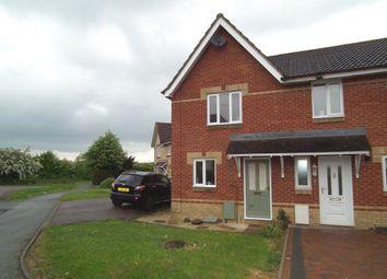 Thumbnail 2 bedroom property to rent in Touraine Close, New Duston, Northampton