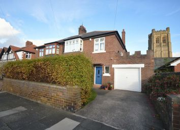 Thumbnail 3 bedroom semi-detached house for sale in Holderness Road, St Gabriels, Heaton, Newcastle Upon Tyne