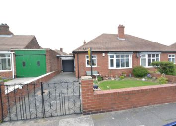 Thumbnail 2 bed semi-detached bungalow for sale in Manor Gardens, Longbenton, Newcastle Upon Tyne
