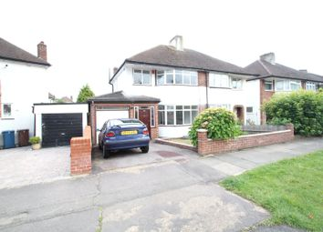 Thumbnail 4 bed semi-detached house to rent in Curzon Avenue, Stanmore