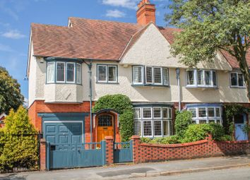 Thumbnail 4 bed semi-detached house for sale in Carisbrooke Road, South Knighton, Leicester