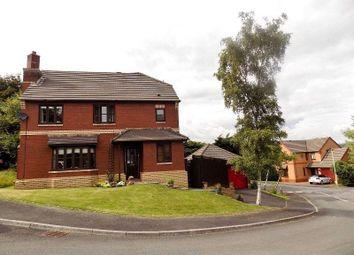 Thumbnail 4 bed detached house for sale in Primrose Close, Brackla, Bridgend.