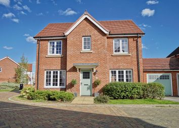 Thumbnail 4 bed detached house for sale in Radland Close, St. Neots