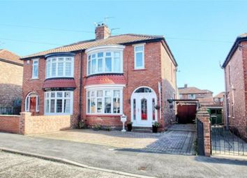 Thumbnail 3 bed semi-detached house for sale in Cottersloe Road, Stockton-On-Tees