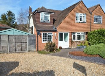 Thumbnail 3 bed semi-detached house for sale in Cranmore Gardens, Aldershot, Hampshire
