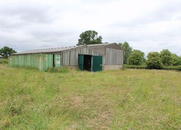 Thumbnail Land for sale in The Barn, Radmore Lane, Abbots Bromley