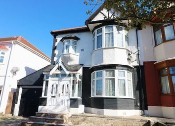 Thumbnail 3 bed semi-detached house to rent in Campbell Avenue, Ilford