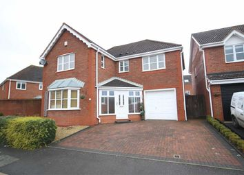 Thumbnail 4 bed detached house for sale in Galloway Road, Swindon
