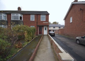 Thumbnail 3 bedroom flat for sale in Whitfield Road, Forest Hall, Newcastle Upon Tyne