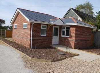 Thumbnail 2 bed detached bungalow to rent in Milbourne Road, Ferndown, Dorset