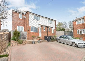 Thumbnail 3 bed semi-detached house for sale in Smith Close, Ninfield, Battle
