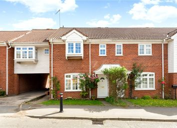 Thumbnail 3 bed terraced house for sale in Chertsey Road, Windlesham, Surrey