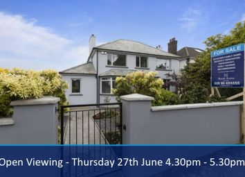 Thumbnail 5 bedroom detached house for sale in Holywood Road, Belmont, Belfast