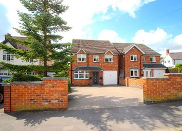 Thumbnail 4 bed detached house for sale in Stamford Street, Ratby, Leicester