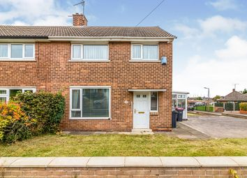 Thumbnail 3 bed semi-detached house for sale in Wood Close, Rawmarsh, Rotherham, South Yorkshire