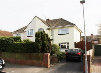 Thumbnail 3 bedroom semi-detached house for sale in Cranborne Crescent, Parkstone, Poole