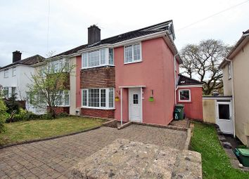 Thumbnail 4 bed semi-detached house for sale in Heol Johnson, Talbot Green, Pontyclun, Rhondda, Cynon, Taff.